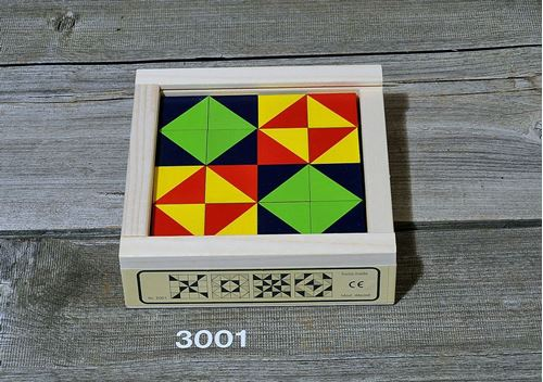 Picture of Wooden Mosaic Puzzle - 16 Pieces