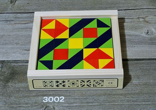 Picture of Wooden Mosaic Puzzle - 25 Pieces