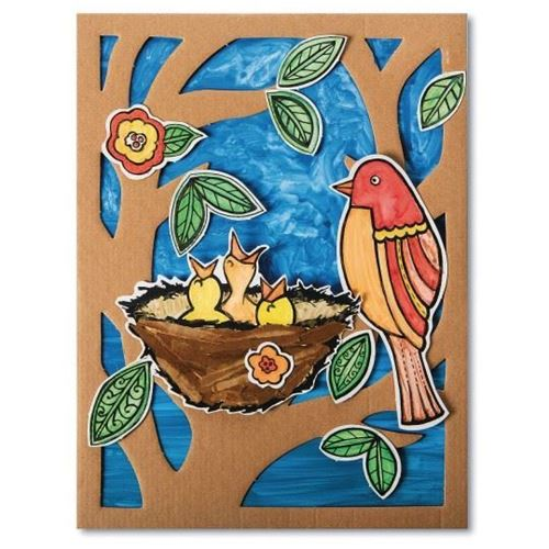 Picture of Nest of Baby Birds Craft Kit (Pack of 24)
