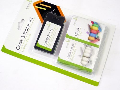 Picture of Chalks and Eraser Set