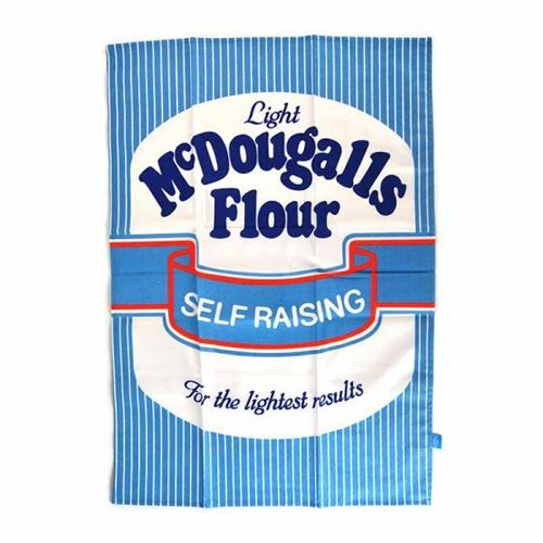 Picture of Memory Lane Tea Towel - McDougall's Flour
