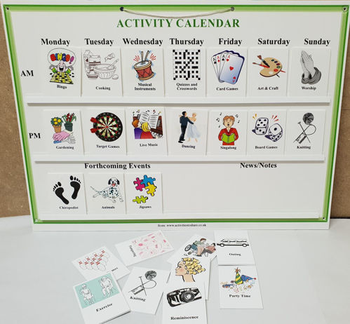 Picture of Activity Calendar for Care Homes©
