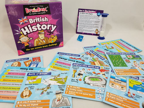 Picture of BrainBox - British History Game *OUT OF STOCK*