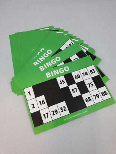 Picture of Large Print Bingo Cards© (Pack of 20)