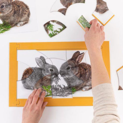 Picture of 15 Large Piece Puzzle For All - Little Rabbits