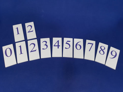 Picture of Date and  Weather Board Extra Tiles - Numbers