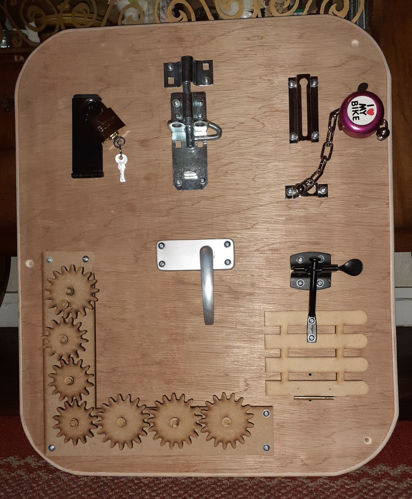 Picture of Locks and Latches Board