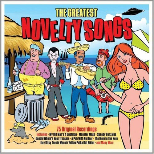 Picture of The Greatest Novelty Songs 3 x CD Set