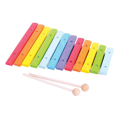 Picture of Wooden Colourful Xylophone (12 Notes)