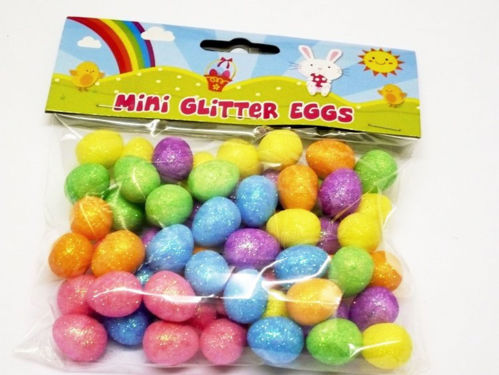 Picture of Mini Glitter Eggs (Pack of 60)