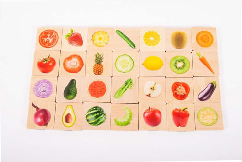 Picture of Healthy Food Matching Pairs