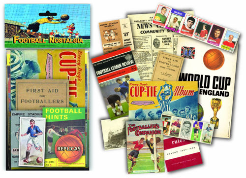 Picture of Memorabilia Pack - Football Nostalgia