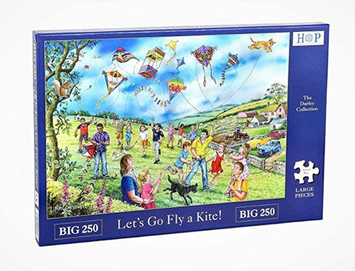 Picture of 250 Large Piece Puzzle - Let's Go Fly a Kite