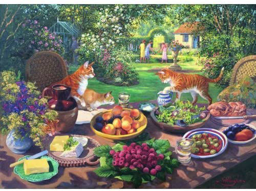 Picture of 250 Large Piece Puzzle - Garden Party