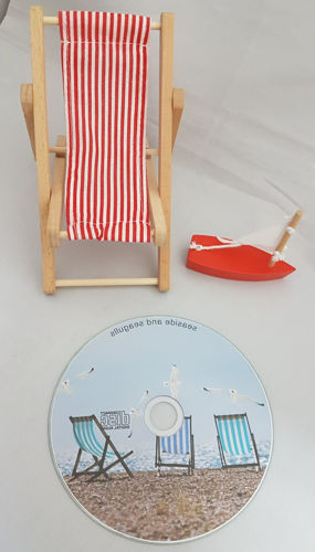 Sounds of the Seaside CD, relaxation health and wellbeing seashore background sound, running time TBA