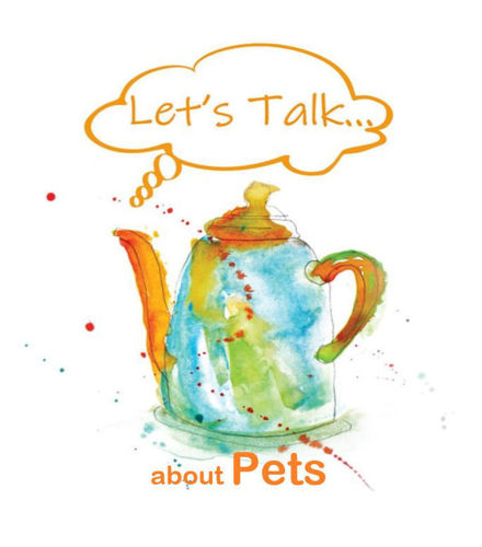Let's Talk OT Pack - Pets, themed occupational therapy reminiscence aid to download for older people in care homes