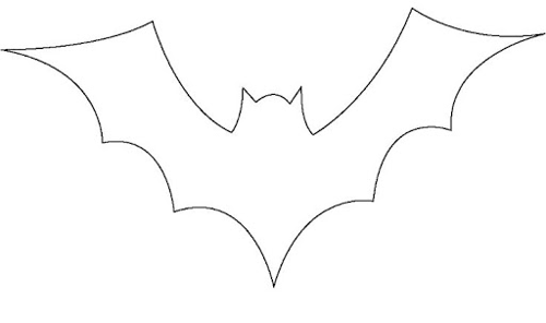 Picture of Halloween Bat Shape