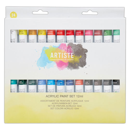 Activities to Share - Acrylic Paints 24 Pack