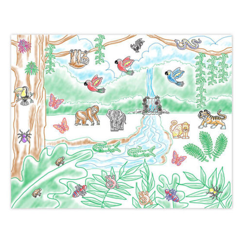 Picture of Stamp a Scene - Rainforest