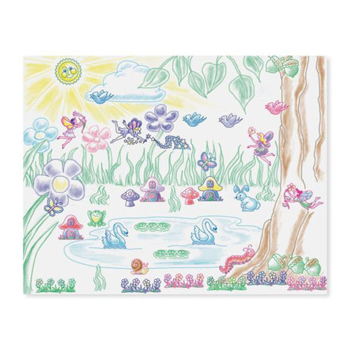 Picture of Stamp a Scene - Fairy Garden