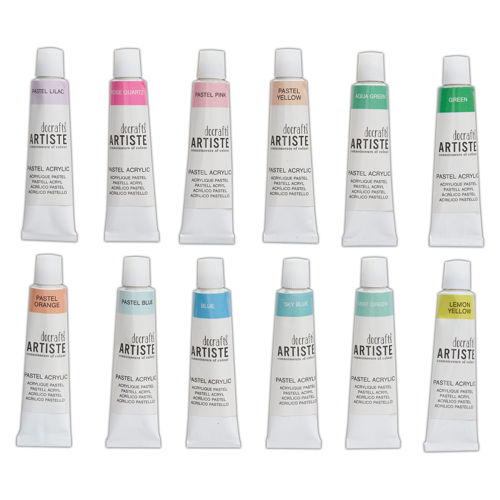 Picture of Acrylic Paint Set - Pastel Shades (12 pk)