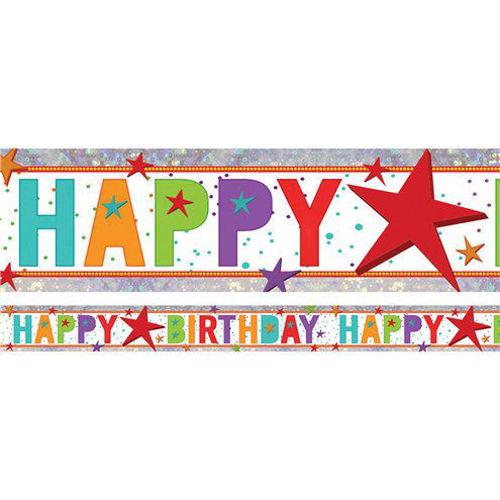 Picture of Happy Birthday Banner