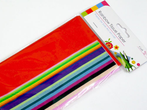 Picture of Coloured Tissue Paper