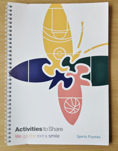 Picture of Large Print Sports Puzzle Book