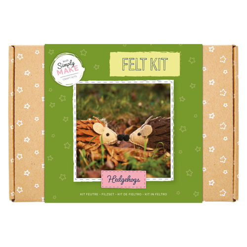 Picture of Needle Felting Kit - Hedgehogs