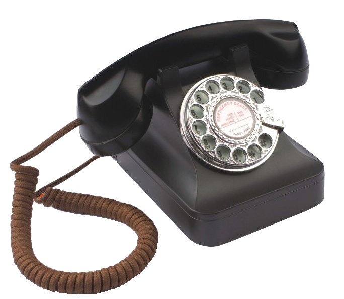 1940 Style working Telephone care home reminiscence aid
