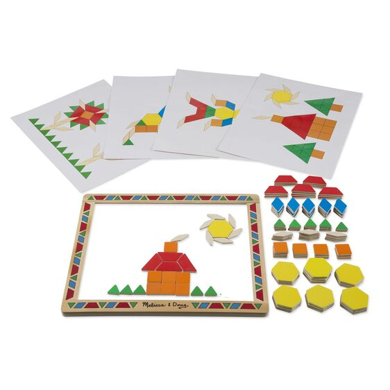 Magnetic Pattern Block | Activities to Share