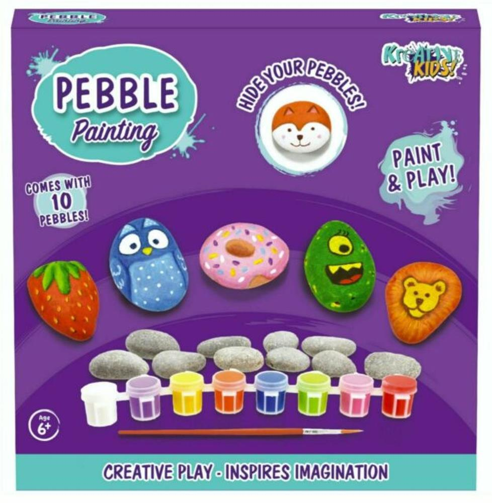 Pebble Painting Kit | Activities to Share